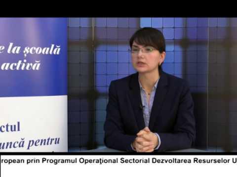 (VIDEO) Locuri de muncă pentru TINEri în București și regiunea Sud Vest – SIMONA SFETCU (E28)