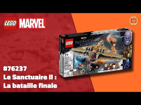Vidéo LEGO Marvel 76237 : Le Sanctuaire II : la bataille finale