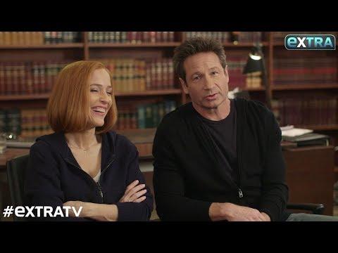 David Duchovny & Gillian Anderson Teases 'X-Files' Season 11