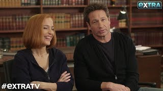 Секретные материалы, David Duchovny & Gillian Anderson Teases 'X-Files' Season 11