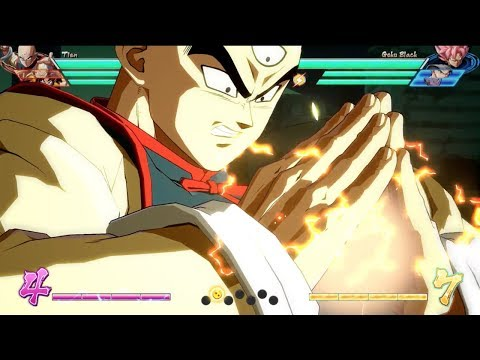 DRAGON BALL FighterZ – Tien Character Breakdown | X1, PS4, PC