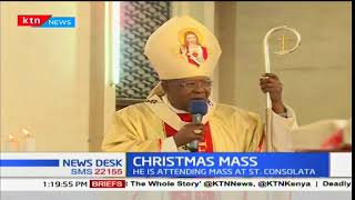 Christmas Mass: Cardinal John Njue leads Kenyans in celebrating Christmas