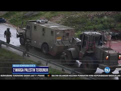 2 Warga Palestin Terbunuh