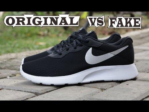 Nike Tanjun Original & Fake
