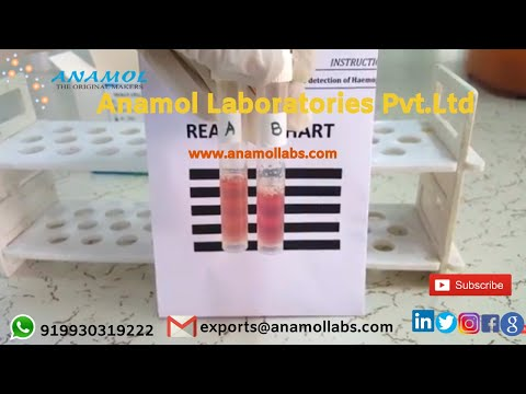 Rapid Sickle Cell Solubility Test Kit for Anemia