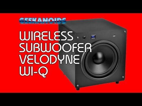 Velodyne Wi-Q 12 inch Wireless Subwoofer Review @Velodyne