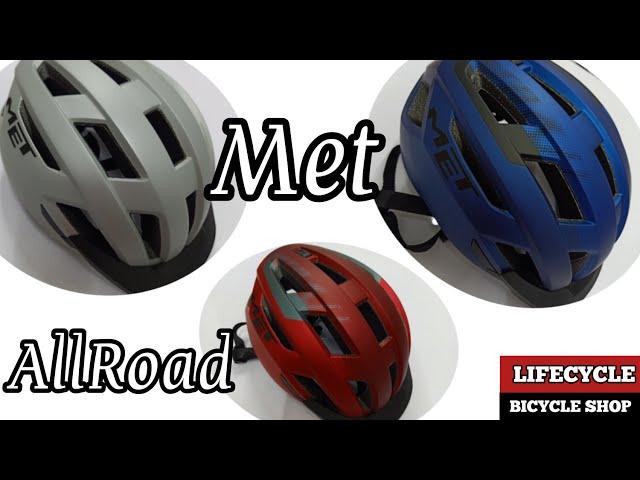 Видео Шлем MET Allroad Red Black (matt)