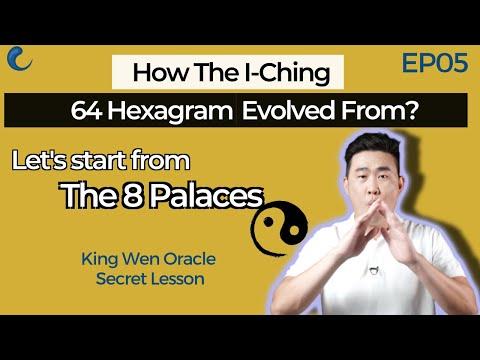 Turns I Ching 8 Trigrams (8 Palace) to 64 Hexagrams | EP05 King Wen Lesson | Wen Wang Gua | AK Guru