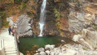 Cascade at Kyongnosla, Sikkim