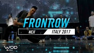 Neji | FrontRow | World of Dance Italy Qualifier 2017 | #WODIT17