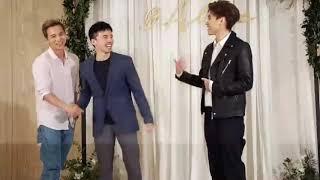 楊奇煜 阿緯 毛弟出席柯佳嬿&坤達婚禮接受訪問