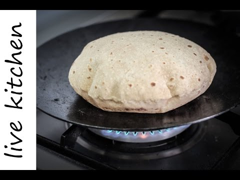 Πως να κάνετε τις πιο νόστιμες φουσκωτές πίτες | Εύκολη και γρήγορη | Roti Recipe