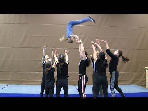 Akrobatik lernen mit den Traumfängern 8 - Wurfakrobatik
