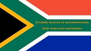 National anthem of South Africa (all languages/english lyrics)