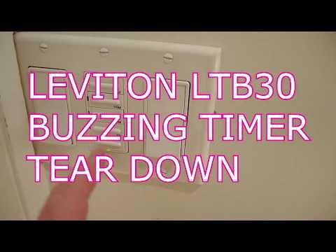 LEVITON LTB30 BUZZING TIMER FAILURE ANALYSIS
