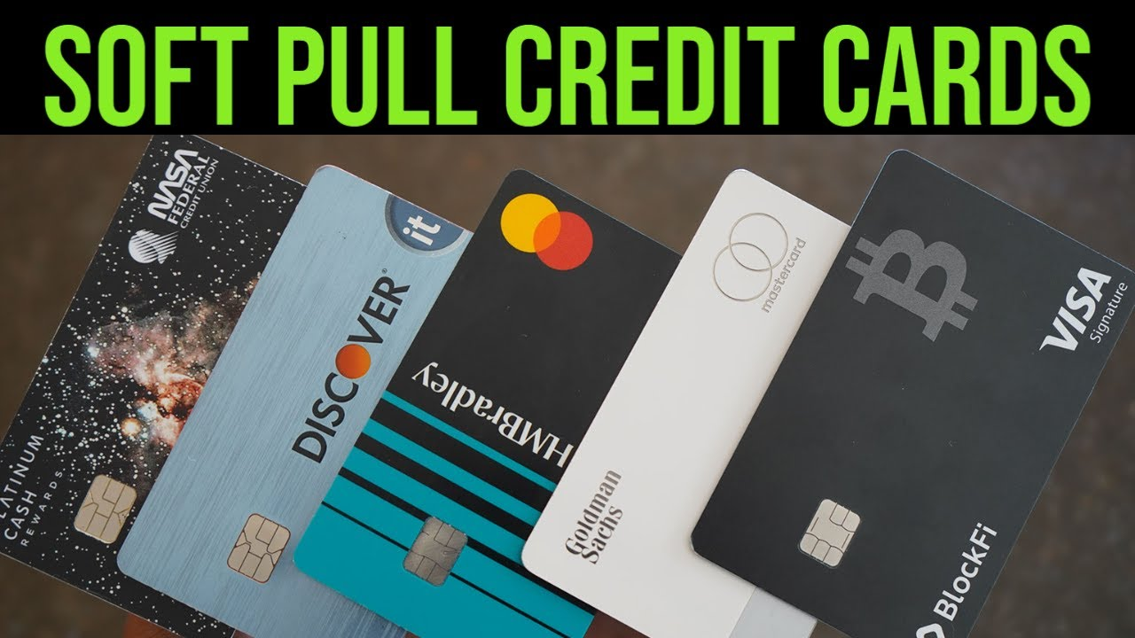 Leading 10 Soft Pull Credit Cards! High Limitation Approvals! (MUST SEE!) thumbnail