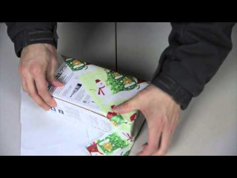 Become A Gift Wrapping Ninja With This Superfast Technique
