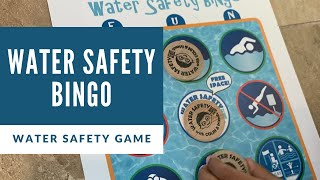 GAME: Water Safety Bingo