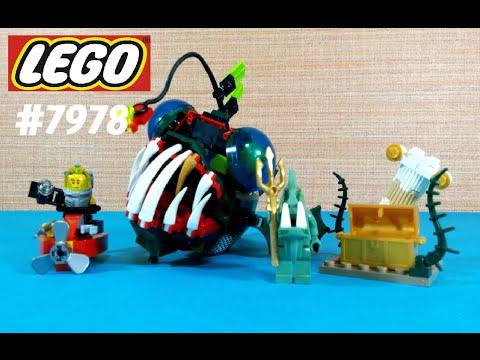 Vidéo LEGO Atlantis 7978 : La créature maléfique