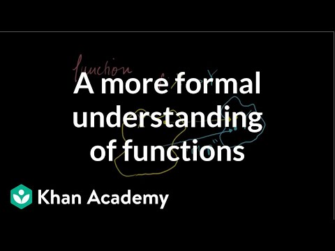A more formal understanding of functions (video) | Khan Academy Khan Academy Knowledge Map on university of texas at austin map, google map, new york times map, npr map, national geographic map, pinterest map, evernote map, brooks academy map, data map, cnn map, mit map, apple map, brown university map, lawrence academy map, uc berkeley map,