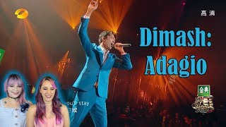 Dimash- Adagio Live Performance Reaction *Is He Even Human?*