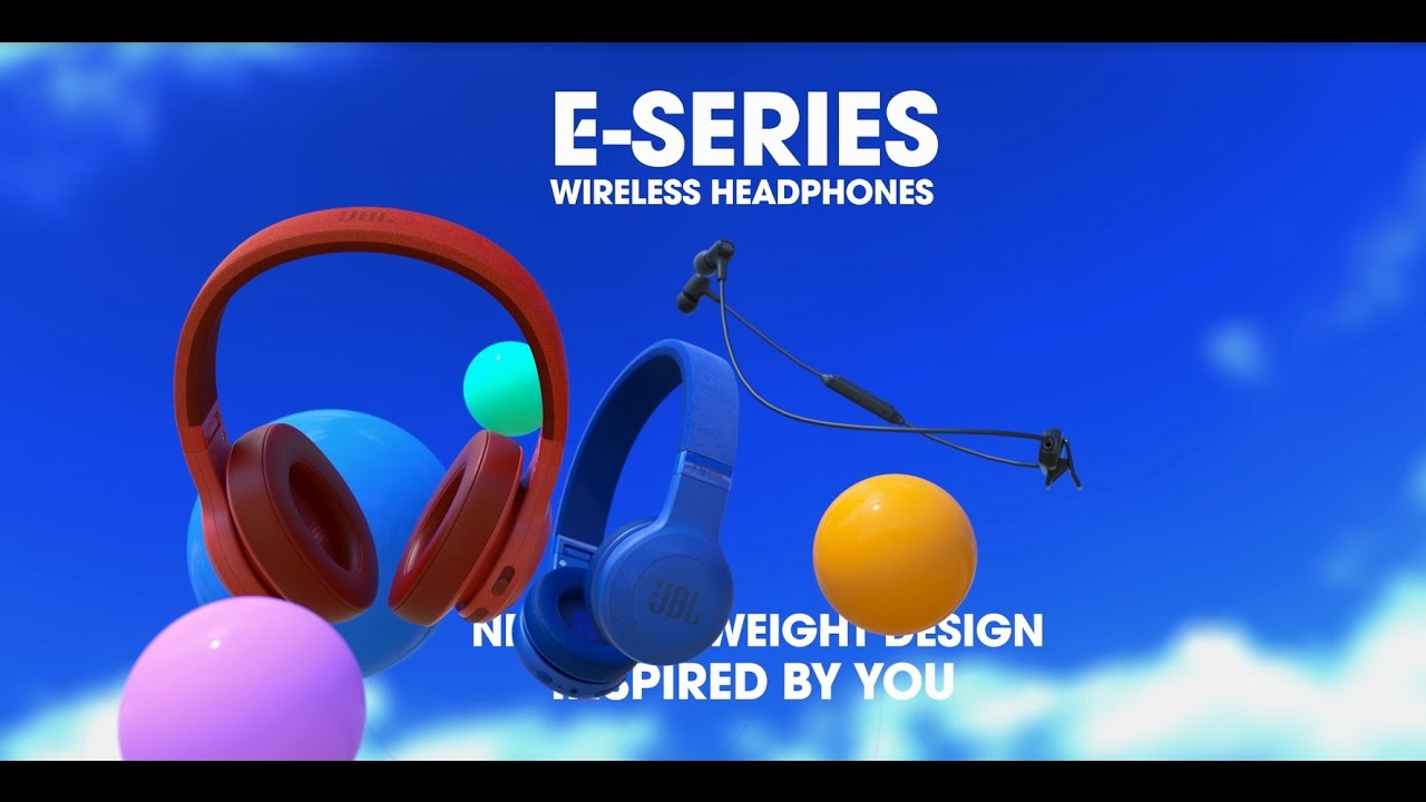 Наушники JBL E45BT (blue) video preview