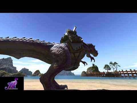 Final Fantasy XIV - Managarm Mount