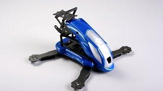 RoboBat FPV Racing Mini Quadcopter (Kit) (Silver Blue V03)