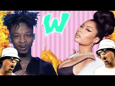 Nicki Throwing Shots? | Farruko, Nicki Minaj, Bad Bunny - Krippy Kush Remix ft.21 Savage | Reaction