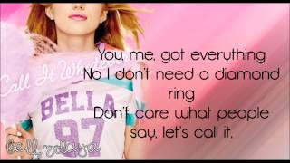 Bella Thorne - Call It Whatever [Lyrics HD]
