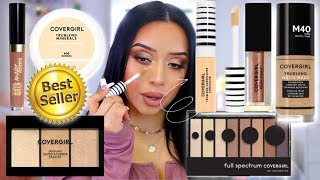 FULL FACE OF COVERGIRLS BEST SELLING MAKEUP 2020 | NOTHING OVER $15