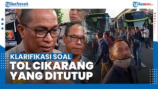 Polda Metro Jaya Klarifikasi Viralnya Pekerja Protes soal Penyekatan Jalur Mudik di Tol Cikarang