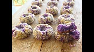 Coconut Yam Cookies Recipe | Resepi Biskut Raya Kelapa Keladi
