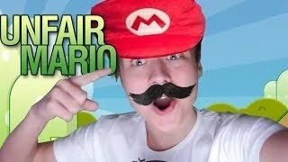 МОИ НЕРВЫ ИМЕЮТ ПРЕДЕЛ! | Unfair Mario | EeOneGuy