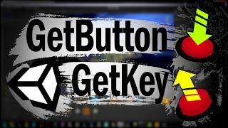 Unity Скриптинг GetButton GetKey Нажатие кнопки Управление с клавиатуры