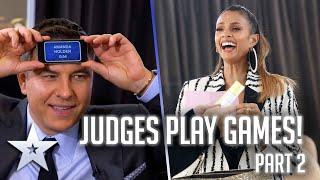 BGT Judges and Ant & Dec play GAMES! | Part 2 | Britain's Got More Talent