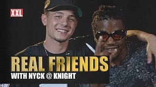Watch Kirk Knight and Nyck Caution Test Their Friendship in 'Real Friends'