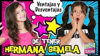 👭 HERMANA GEMELA: VENTAJAS Y DESVENTAJAS 🌈 EXPECTATIVA Vs REALIDAD De Tener HERMANOS Por 24 HORAS