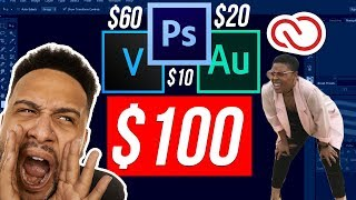 Gambar cover How To Get Adobe Photoshop CC, Adobe Audition CC, and Vegas Pro 15 For Only $100
