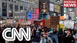 EUA têm oitavo dia de manifestações após morte de George Floyd
