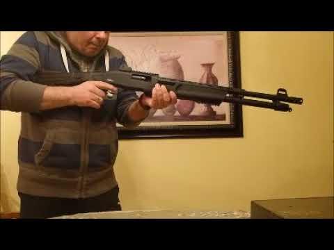 Pallas Tactical Pump Shotgun