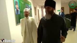 В здании ДУМ ЧР состоялась встреча Муфтия ЧР Салах-Хаджи Межиева с председателем Духовного управлени