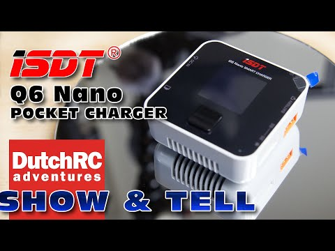 ISDT Q6 Nano small & affordable charger Review :)