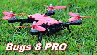 MJX Bugs 8 Pro - Powerful 3S Brushless Beginner to Intermediate ACRO Drone - TheRcSaylors