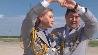Қазақстан полициясы қызметкерлеріне арналған вальс/Вальс, посвященный сотрудникам полиции Казахстана