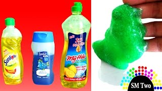 [Test] How to make slime without glue