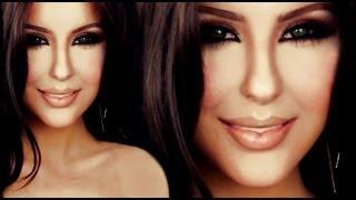 Kim Kardashian  make up tutorial by Anastasiya Shpagina