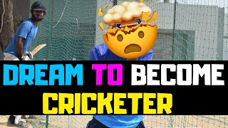 My Dream is to become Cricketer? (NEED TO FOCUS RIGHT NOW)