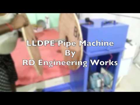 LLDPE Pipe Making Machine