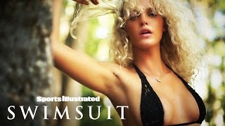 Erin Heatherton Under The Shade In Zanzibar | Irresistables | Sports Illustrated Swimsuit